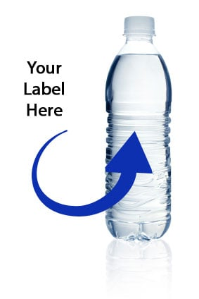 private label bottled water program custom labeled water